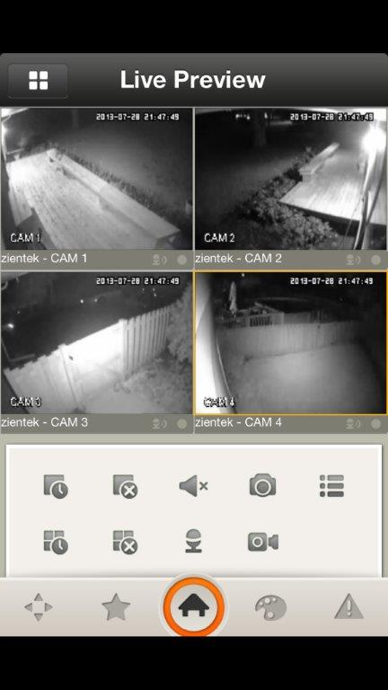 Remote view from Iphone with Night Vision